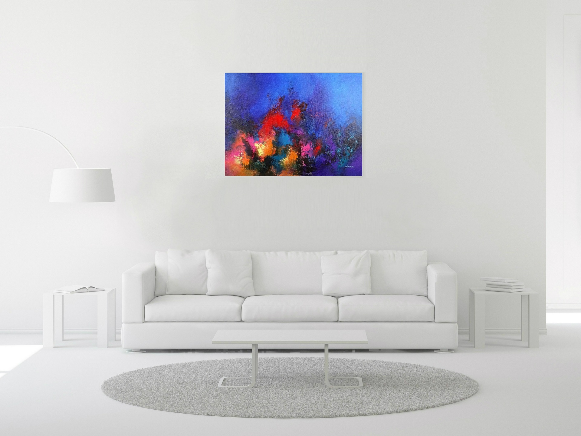 Abstract Underwater Painting - Prayers