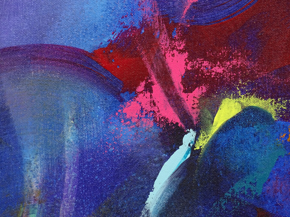 Colorful Abstract Painting - Set Me Free