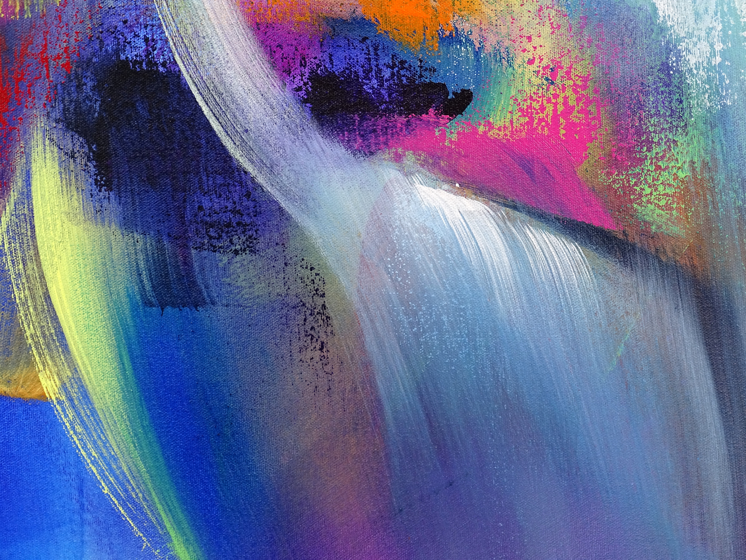 Colorful Abstract Painting - The Arena
