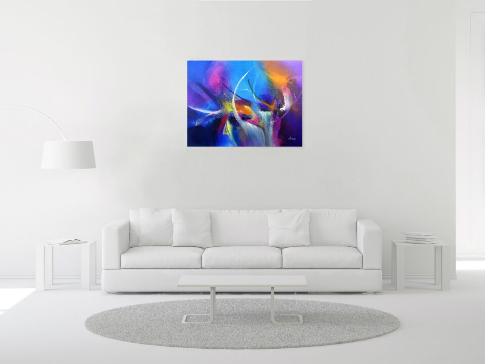 Colorful Abstract Painting - The Arena 7