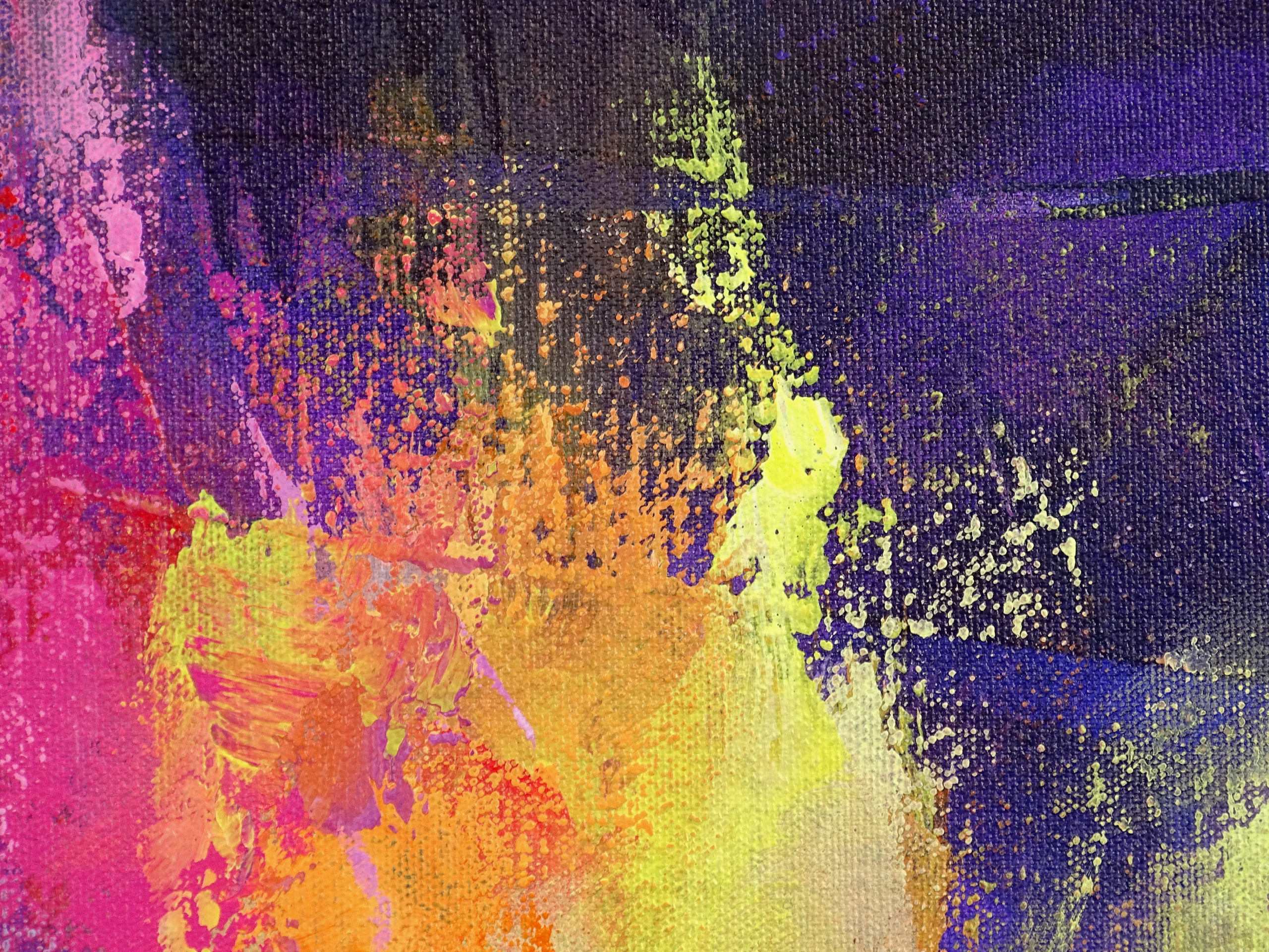 Colorful Contemporary Painting - Apparitions